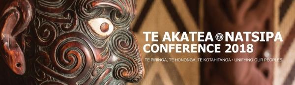 Te Akatea - NATSIPA Conference 2018